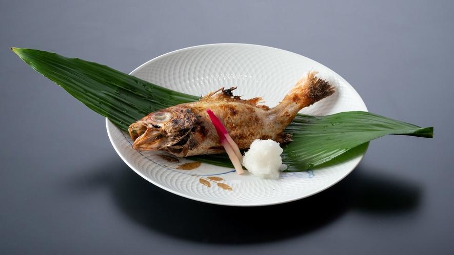のど黒塩焼き(イメージ) 夕食~石川の幸大盤振る舞い~より