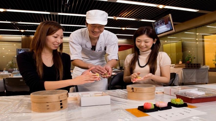 和菓子手作り体験(イメージ)