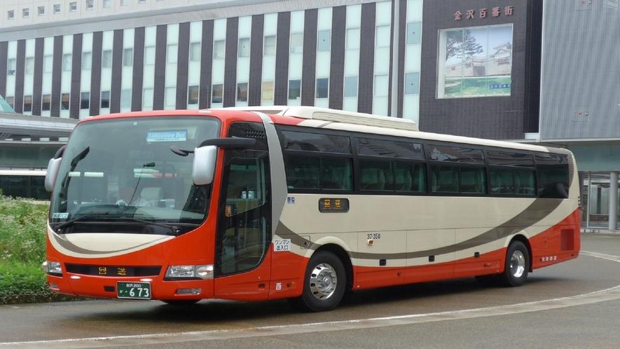 小松空港行リムジンバス