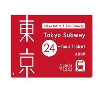 TOKYO SUBWAY TICKET 24h