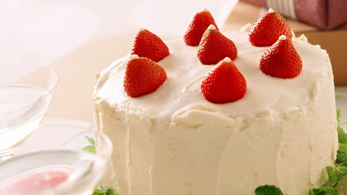 【2人の記念日】ふたりで上質な時間を愉しむ〜ホールケーキ&シャンパン付/料理茶屋にて「萌木膳」