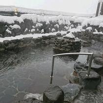 ささゆり(露天風呂・冬)