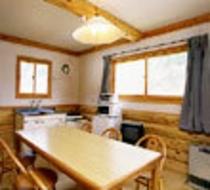 2室1棟コテージキッチン