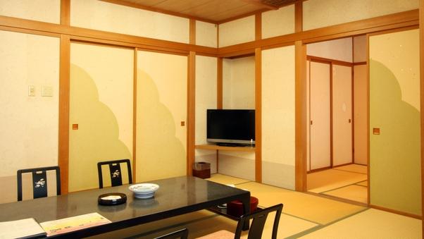 [禁煙]本館 最上階の広めの和室【10+6畳】