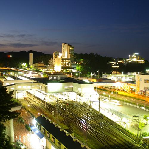 鳥羽駅の夜景・鉄道ファンにおすすめ