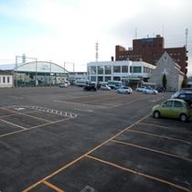 コパン大駐車場160台完備