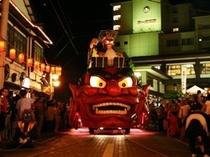8月の最終土・日に開催『登別地獄祭り』
