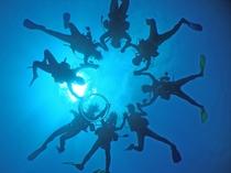 【ダイビング】ダイビングショップ併設の宿です♪当館に泊まって宮古島の魅力を思う存分お楽しみください♪