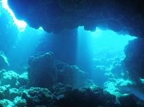 【ダイビング】宮古島周辺は地形により様々な形のダイビングスポットがあります。