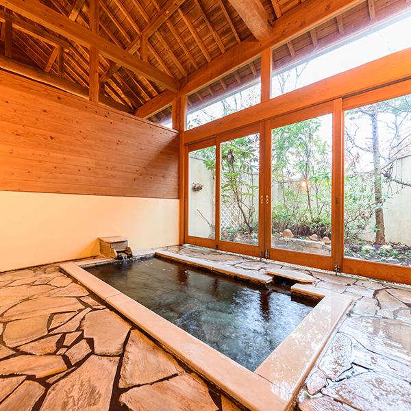 ●貸切半露天風呂 松の湯