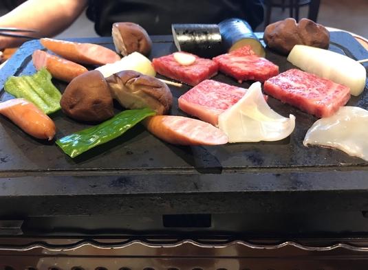 【ワクチン接種者応援プラン】黒毛和牛の溶岩焼きステーキがメインのコース料理プラン