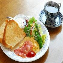 【洋朝食】