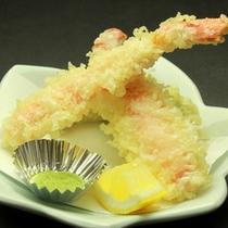 サクサクの蟹の天ぷら