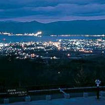 日本海・積丹半島を一望