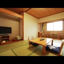 【客室一例】山側和室8畳