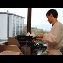 朝食■玉子焼きは手づくりです