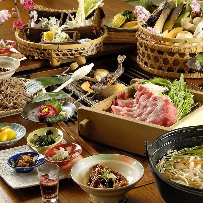 【春】いろり料理