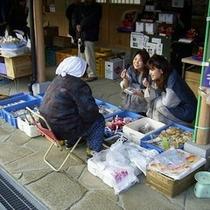 昼神温泉【朝市】