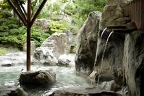 庭園露天風呂~打たせ湯~