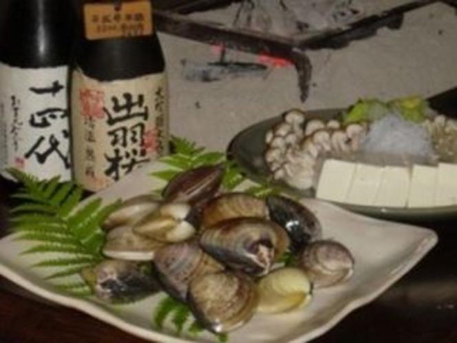 蛤鍋(冬季限定予約)
