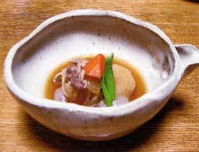 根菜の炊き合わせ