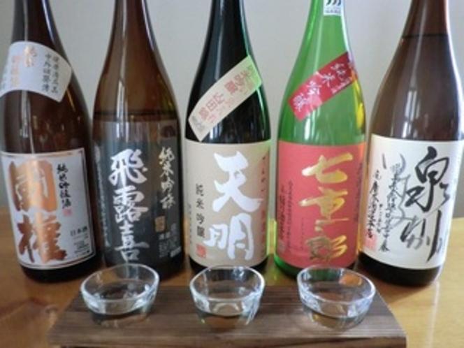 会津地方の地酒