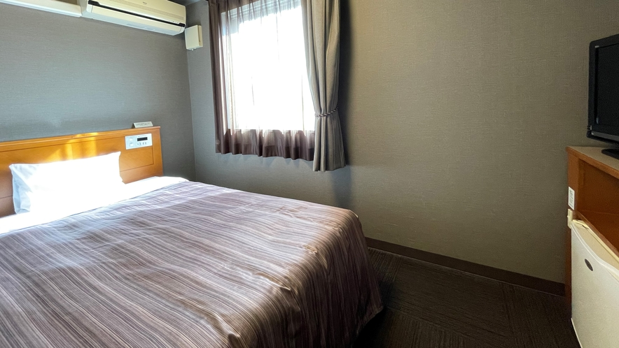 【シングルルーム】ベッド幅120cm 広さ13平米