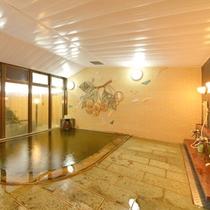 *【大浴場】天然温泉を掛け流しで堪能する贅沢を。