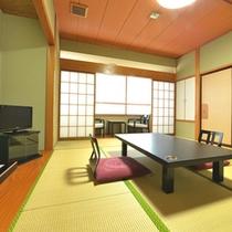 *【和室10畳一例】広々とした和空間でゆったり。