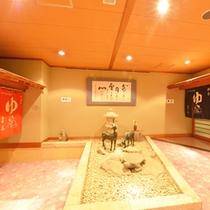 *【大浴場入口】大浴場へはこちらからお入り下さい。