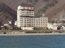 千曲川と上田館