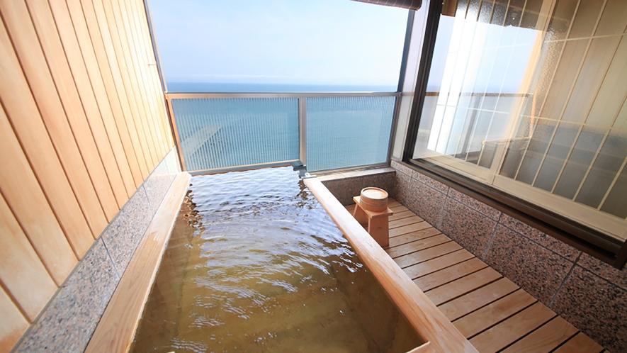 【客室】露天風呂(昼)①