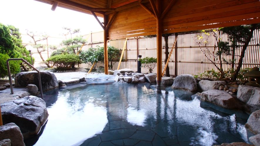 【温泉】4階大浴場露天風呂②