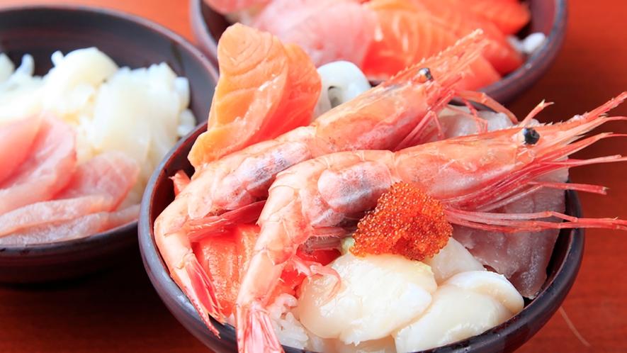 【食事】海鮮丼イメージ(ブッフェ)