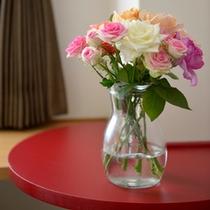 ばら(花瓶)