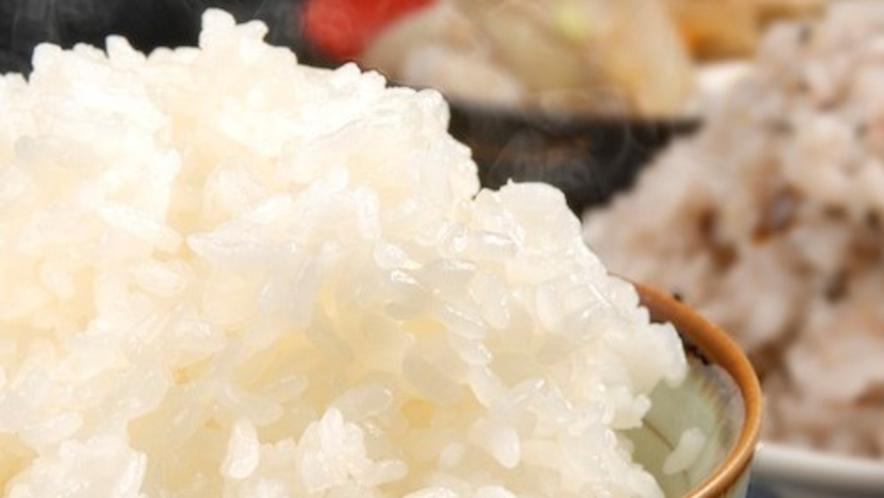 地元契約農家から届いた静岡県のお米を使用【朝食イメージ】