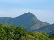 箱根をとりまく、箱根外輪山の金時山です