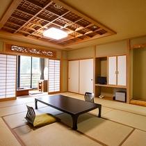 【富士山側】16畳和室(広縁付)
