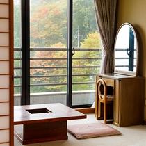 【富士山側】12.5畳和室(広縁付)