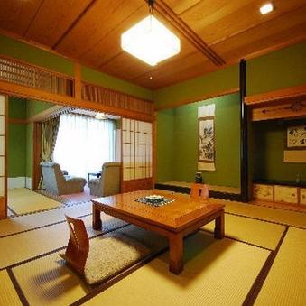【野花亭】和室12.5畳+6畳+洋間4.5畳(禁煙)