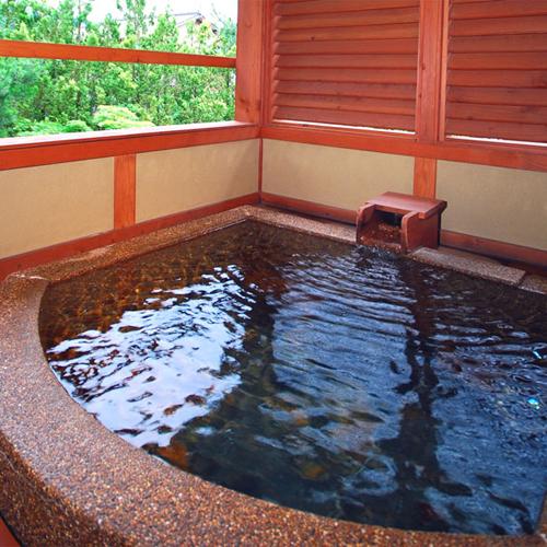 *「相生」のお部屋にある露天風呂