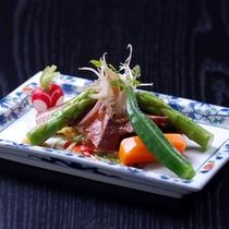 *お料理一例 野菜&まぐろ