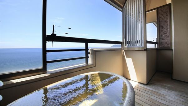 【海側眺望】本館客室露天風呂付和室10畳/最大5名迄