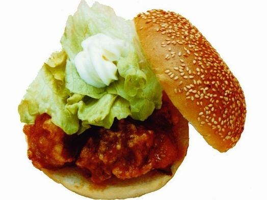 【ご当地バーガー】函館のラッキーピエロ御食事券付(1泊2食ビュッフェ)