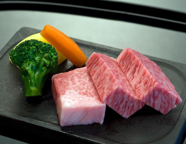 牛小角ステーキ(一例)