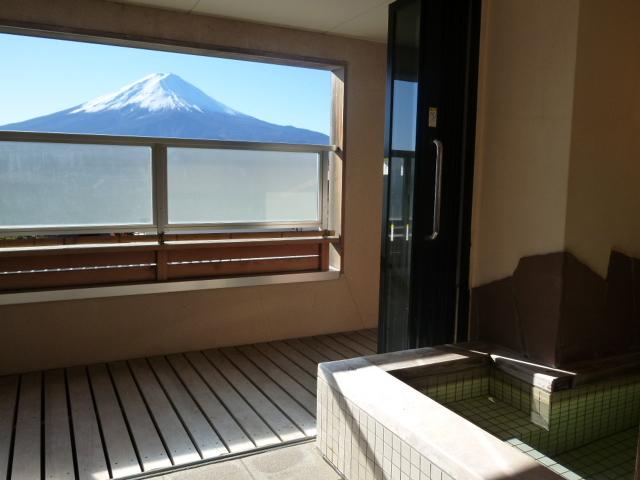 貸切温泉風呂「富士の雫」