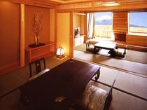 ◇富士山側◇露天風呂付大部屋客室