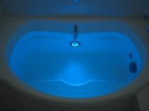 水中照明付き天然温泉貸切風呂