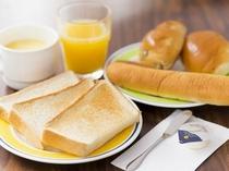 ●パン朝食:300円