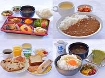 グリーンホテルの朝食はとってもリーズナブル♪(300~500円)